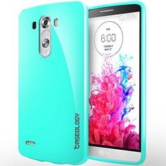 LG G3 case, Caseology® [Daybreak Series] [Turquoise Mint] Slim Fit Shock Absorbent Cover [Drop Protection] LG G3 case