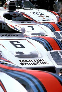 Martini Porsches at Le Mans, 1978