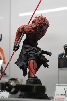 2013 San Diego Comic-Con (SDCC) - Kotobukiya #DarthMaul #Starwars #actionfigure