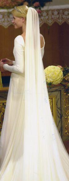 Galería de imágenes - Foto 2 - El vestido de novia estaba inspirado en el que lució la bisabuela de Haakon en su boda
