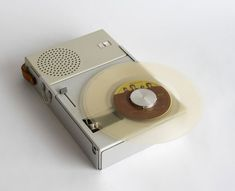 Braun Portable Record Player and Radio TP1