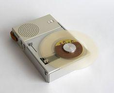 Braun Portable Record Player and Radio TP1