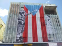 Check out these independent street artists in Puerto Rico, #santurceesley on Instagram and Facebook Santurce Es Ley (SEL4).