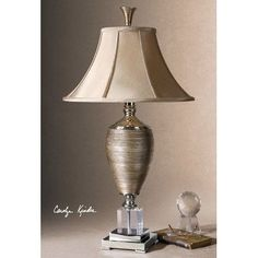 Buy the Uttermost 26738 Metallic Gold / Polished Chrome / Crystal Direct. Shop for the Uttermost 26738 Metallic Gold / Polished Chrome / Crystal Textured Porcelain Lamp with Crystal Base from the Abriella Collection and save. Crystal Texture, Gold Floor Lamp, Traditional Floor Lamps, Gold Table, Accent Furniture, Contemporary Furniture, Polished Chrome, Decoration, Wall Decor