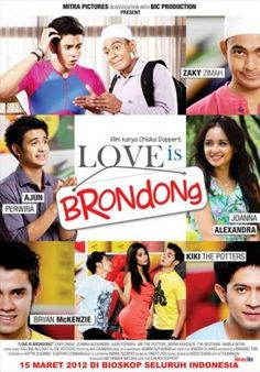 Love is Brondong (Chiska Doppert) • 15 Maret 2012 • 80.672 penonton