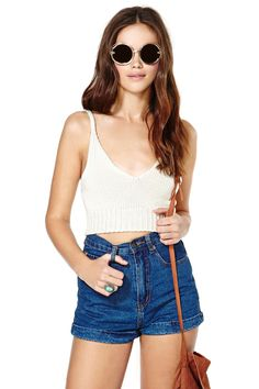 Don't Sweat It Crop Top | Shop Tops at Nasty Gal