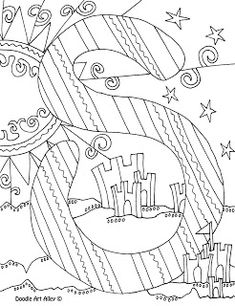Free And Printable Alphabet Letter Coloring Pages At Classroom Doodles