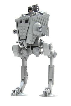 AT-ST with pilot