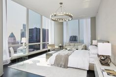 A five-bedroom condo on West 57th Street is up for sale | Master Bedroom