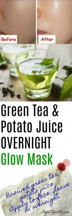 Overnight Face Mask for Glowing Skin Can't believe how well this worked! Woke up with such soft, glowing skin. Doing it again tonight! Best Natural Skin Care, Anti Aging Skin Care, Organic Skin Care, Natural Beauty, Face Treatment, Skin Treatments, Belleza Diy, Sensitive Skin Care, Beauty Skin