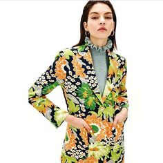 """1,296 Likes, 3 Comments - Shrimps (@shrimps__) on Instagram: """"The Mary Jumper in today's @theststyle - styled by @flossiesaunders , available @matchesfashion 💚🍊🍏🍑"""""""