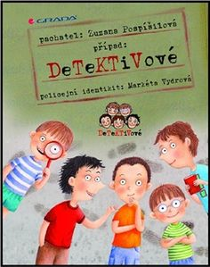 Obálka titulu Detektivové Teacher Binder, Films, Family Guy, Guys, Music, Cover, Books, Fictional Characters, Projects