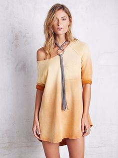 Free People Tanna Peached Out Bliss Tunic at Free People Clothing Boutique