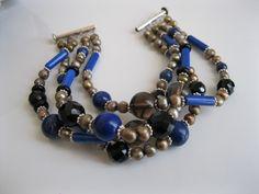 Lavina Lapis Lazuli Bracelet « Pearl Jewellery