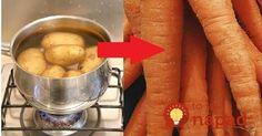 Zemiaky varíme takmer denne, je preto dobré poznať tento jednoduchý trik, ktorý vám zaručí, že z tejto potraviny nebude len obyčajná príloha, ale čosi omnoho viac!