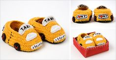 Taxi baby shoes
