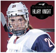 Hilary Knight, hockey phenom.
