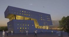 Nanotechnology Research Center, Zahedan by New Wave Architecture
