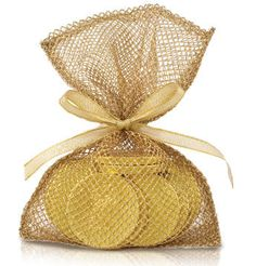 10-pc Sack of Gold Chocolate Coins