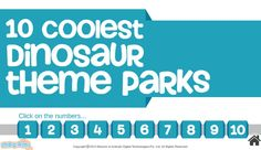 Know more about the top ten coolest #dinosaurthemeparks around the world. Collection of all the world famous dinosaur-themed #amusementparks. For more interacting #Generalknowledge for #kids, visit: http://mocomi.com/learn/general-knowledge/