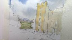 Castle Bolton Watercolour Project