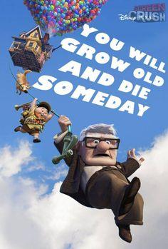 If Disney Movie Posters Were Honest: UP