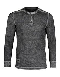 10ae89d3d531 ZIMEGO Men s Casual Long Sleeve Lightweight Waffle Therma.
