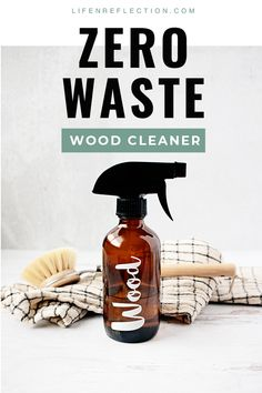 Not only is it a natural cleaning recipe, but its also an easy zero waste cleaner for wood surfaces. Natural Cleaning Recipes, Deep Cleaning Tips, Natural Cleaning Products, Cleaning Hacks, Organizing Tips, Natural Products, Cleaning Wood, Green Cleaning, Doterra