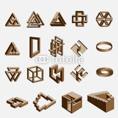 Impossible Objects / #geometrics