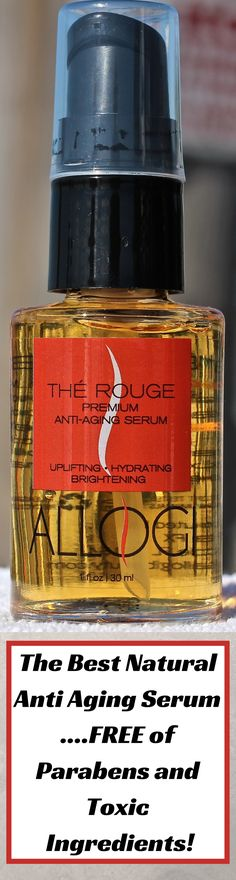 TOP Anti Aging Serum - The Best Face Serum by ALLOGI - Best Skin Care Product to Fade & Get Rid of Fine Lines and Wrinkles for a Younger Glowing Skin with Natural and Powerful Rooibos Tea Antioxidants  http://www.amazon.com/TOP-Anti-Aging-Serum-Antioxidants/dp/B015QO7UB6