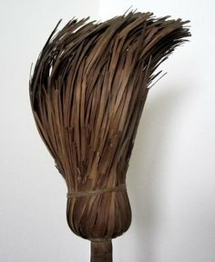 Antique 18th/19thC SHAVED BROOM INDIAN BROOM AAFA Klein Family Hearth Primitive
