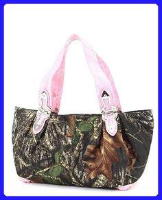 Mossy Oak Pink Camouflage Large Hobo Handbag - Shoulder bags (*Amazon Partner-Link)