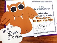 First Grade Wow: Stellaluna-Afraid of the light? Super cute craft!
