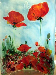 Poppy Sconce | Designer Glass Mosaics | Designer Glass Mosaics
