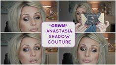 *GRWM*- ANASTASIA SHADOW COUTURE | WORLD TRAVELER PALETTE (GREAT FOR BLU...