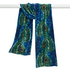 The Met Store - Peacock Feather Scarf