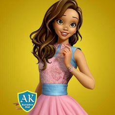 Audrey Former Gigi/Gallery Descendants Wicked World, Disney Descendants, Disney Channel, Lighter Brown Hair, Snow White Queen, Sarah Jeffery, Audrey Rose, Anne Mcclain, Belle