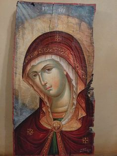 Virgin Mary, Contemporary, Painting, Art, Painting Art, Blessed Virgin Mary, Paintings, Kunst, Paint