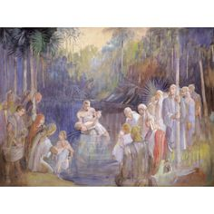 Minerva Teichert  The Waters of Mormom