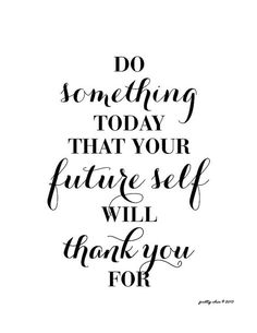 Do Something Today Art Print. Inspirational Wall Art. Shop them all at Pretty Chic SF