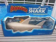 MEGO-Aquaman-vs-GREAT-WHITE-SHARK-1978-DC-Comics-JAWS-Dreyfuss-Spielberg-Shaw
