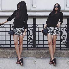 Aliya Akhmedeeva - Somemoment Shorts - OOTD