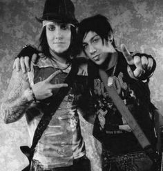 Synyster Gates and Zacky Vengeance ~ Avenged Sevenfold