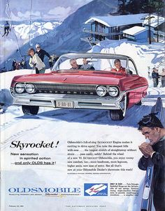Seems unlikely a Skyrocket would have much traction in the snow.