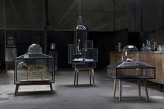 Display cabinets | Steel Cabinets | JSPR | Sylvie Meuffels. Check it out on Architonic