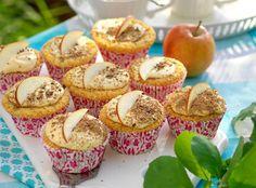 Äppelmuffins är gott till fikat och enkelt att baka!