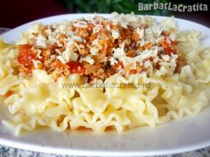 Paste cu sos bolognese Bolognese, Macaroni And Cheese, Ethnic Recipes, Food, Mac Cheese, Meal, Essen, Hoods, Mac And Cheese