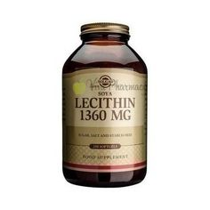 Solgar Lecithin 1360 mg Softgels, 250 Ct Essential Fatty Acids, Health And Wellbeing, Whiskey Bottle, Natural Health, Dairy Free, Food, Count, Vitamins, Eten