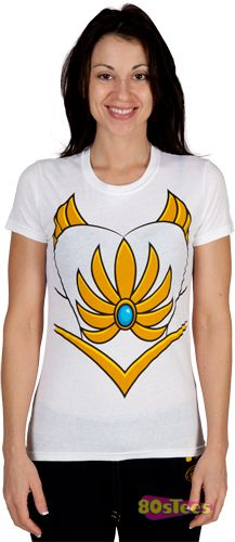 She-Ra shirts and more classic cartoon gear for ladies. Costume Shirts, Diy Costumes, Halloween Costumes, Costume Ideas, She Ra Costume, She Ra Princess Of Power, Classic Cartoons, Retro Outfits, Knitting Projects