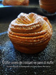 Cronut or Kraffni Sweet Pastries, Bread And Pastries, French Pastries, Russian Desserts, Russian Recipes, Chef Recipes, Sweet Recipes, Cooking Recipes, Burger Cake